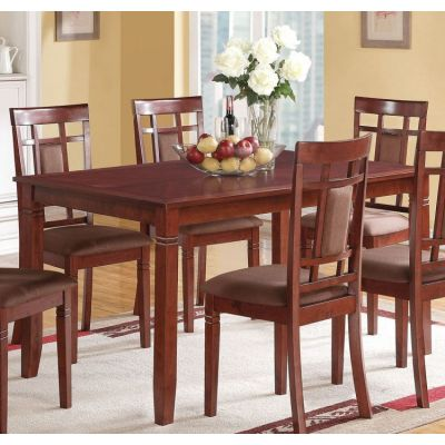 Sonata Dining Table in Cherry - 71160