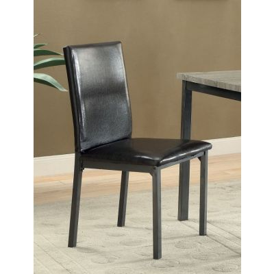 Garza Upholstered Dining Chair with Full Back