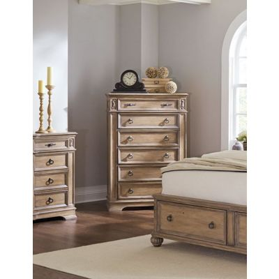 Ilana 6 Drawer Chest with Top Felt-Lined Drawer - 205075