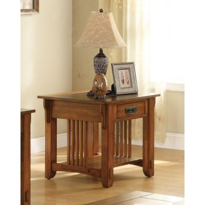 End Table in Oak - 702007