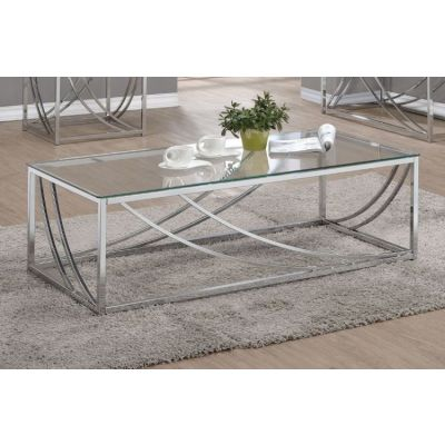 Chrome Coffee Table - 720498