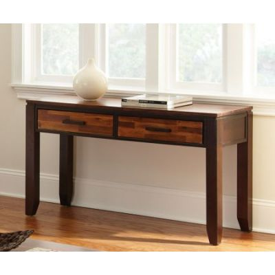 Abaco Rectangular Wood Top Sofa Table in Espresso - AB600S