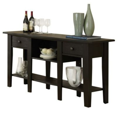 Liberty Sofa Table in Antique Black - LY600SB