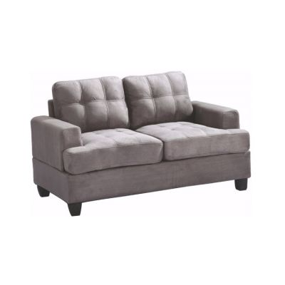 Progressive Loveseat in Grey Suede - G513A-L