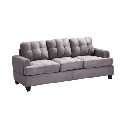 Ashley Sofa in Grey Suede - G513A-S