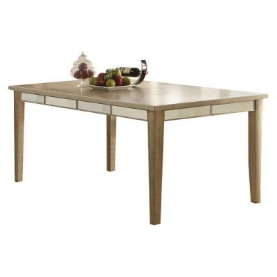 Voeville White Dining Table (Table Only) - 61000