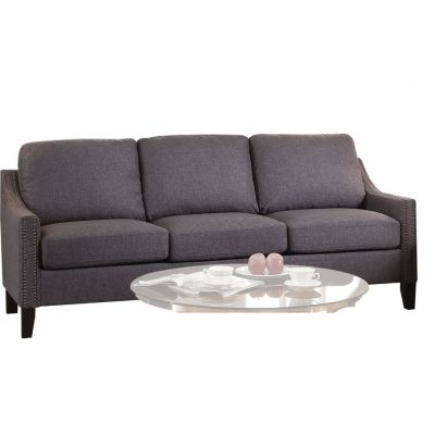 Zapata Jr Progressive Sofa in Gray Linen - 53755