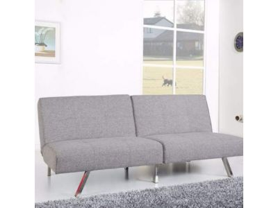 Victorville Foldable Futon Sofa Bed in Ash