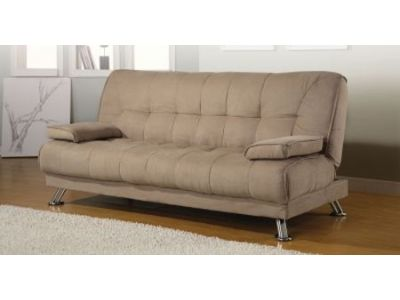 Braxton Tan Futon Sofa Bed
