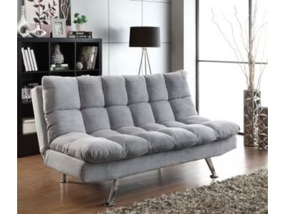 Dark Grey Futon Sofa Bed