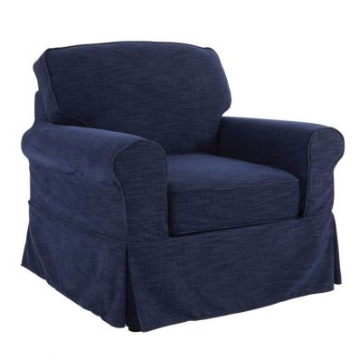 Ashton Chair in Navy - ASN51-S66