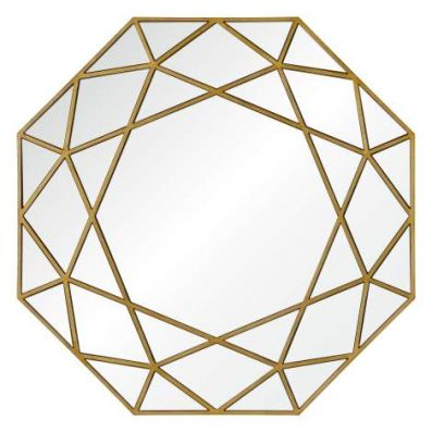 Deloro Mirror in Gold - VEN047-MT1649