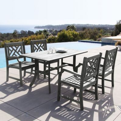 Renaissance 5-piece Outdoor Dining Set - V1300SET2