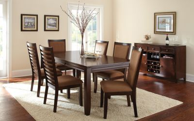 Wayfare 8 Piece Casual Dining Set in Expresso - 001487_Kit